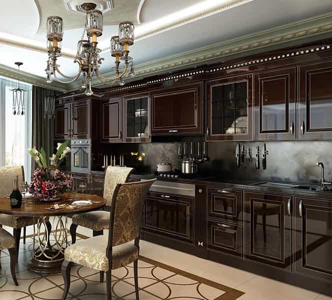Современные и классические кухни Villa Door в ТЦ Юго-Запад