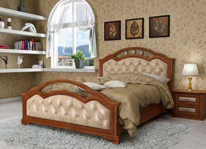 Кровати из массива дерева от производителя