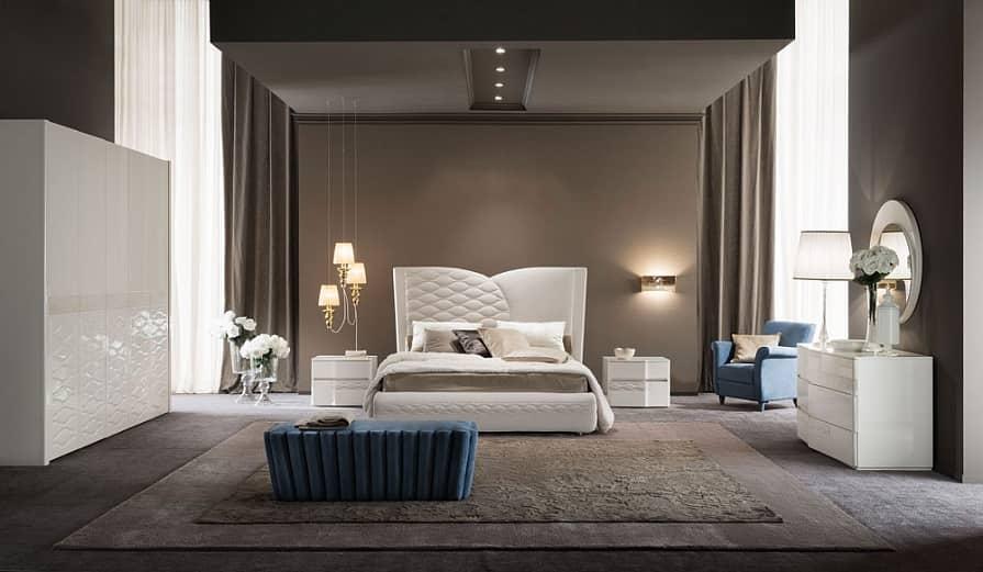 Спальни из Италии – очарование роскоши